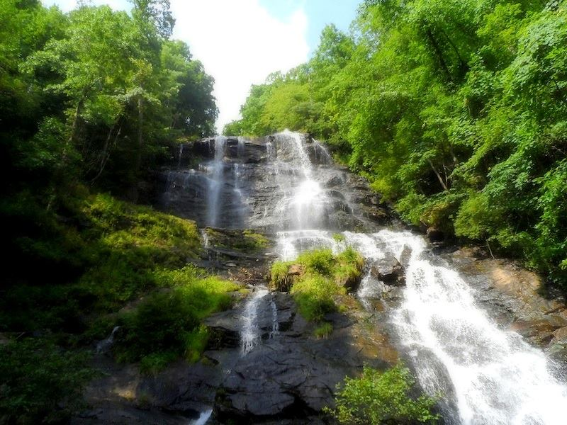 Amicalola Falls: The tallest waterfall in thesoutheast