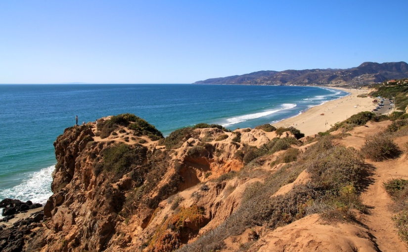 Point Dume bluffs: Malibu