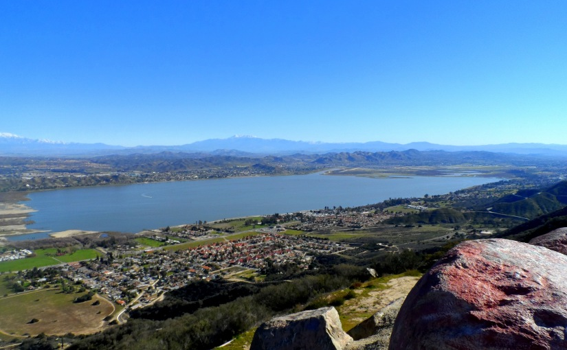 Lake Elsinore views & history