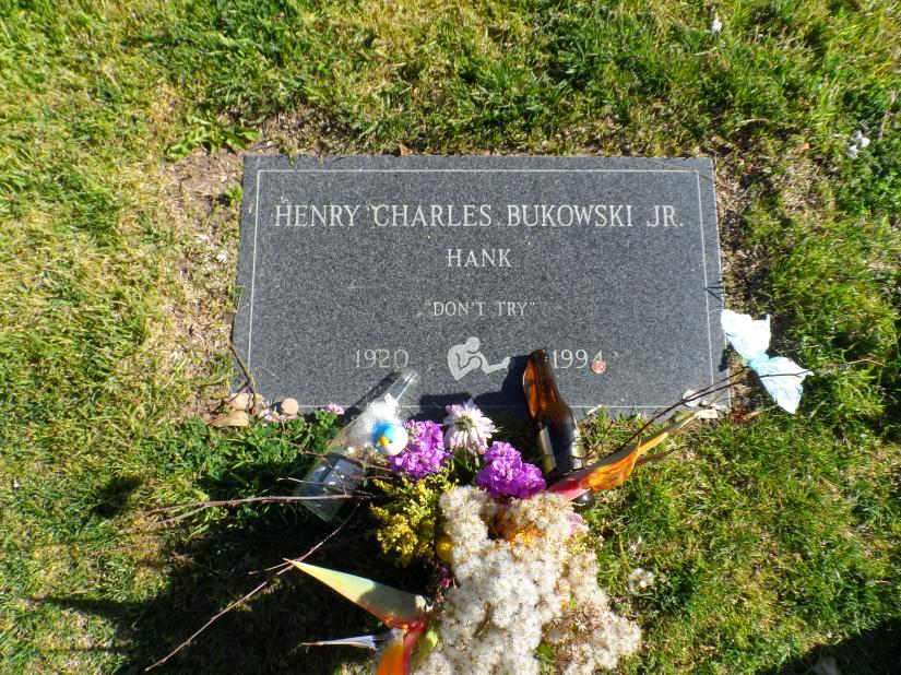 A visit to Charles Bukowski's grave